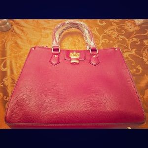 Purse handbag new rose color